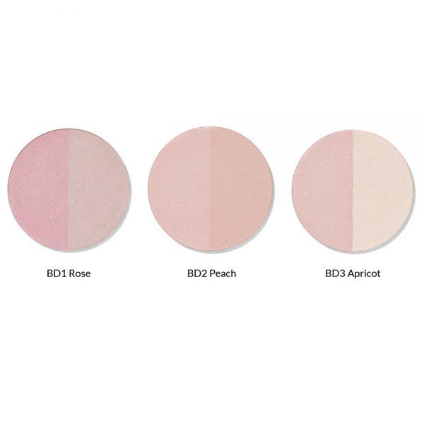 IKOS Duo-Blusher Farben