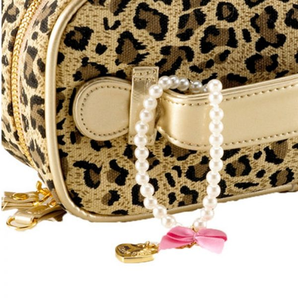 Kosmetiktasche Little Diva Leopardenprint