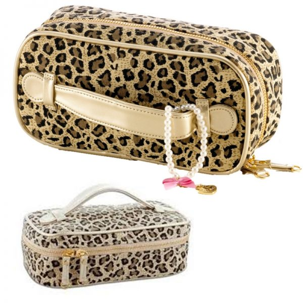 Kosmetiktasche Leopardenprint Little Diva